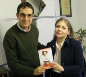 Георги Митов-Геми и Лоранс Плазне. Снимка: Колибри